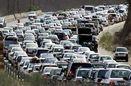 ترافیک سنگین در آزادراه «قزوین – کرج»