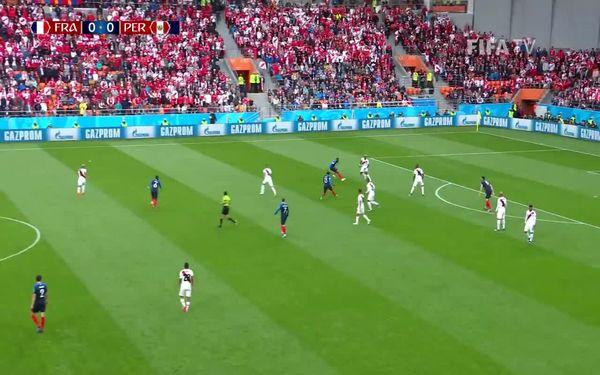 خلاصه بازی فرانسه پرو در جام جهانی 2018 روسیه