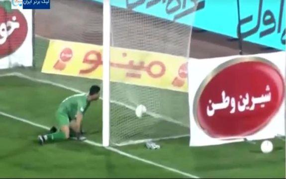فیلم گل اول ذوب آهن به استقلال توسط وحید محمدزاده