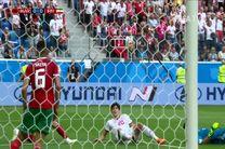 خلاصه بازی ایران مراکش در جام جهانی 2018 روسیه