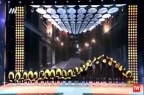 فیلم اجرای گروه ستاره هشتم در مرحله نیمه نهایی عصر جدید