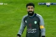 فیلم گل دوم پرسپولیس به ماشین سازی توسط احمد نورالهی