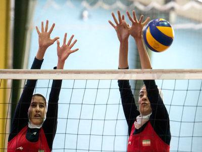 شکست دختران والیبالیست ایران برابر تیم فورمیس