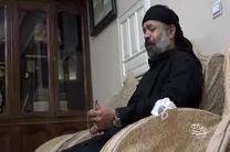 فیلم روضه خوانی محمود کریمی در منزل سردار شهید سلیمانی