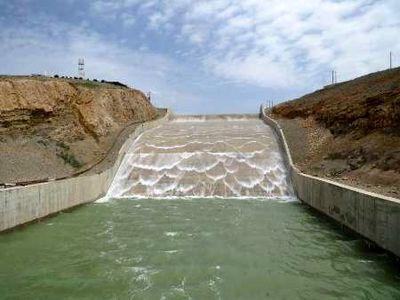 740 میلیون مترمکعب آب پشت سدهای کرمانشاه جمع شده است