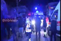 فیلم خسارات زلزله ۶.۸ ریشتری ترکیه