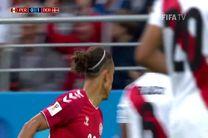 خلاصه بازی پرو و دانمارک در جام جهانی روسیه 2018