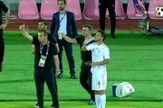فیلم گل اول تیم ملی امید ایران به کره توسط رضا شکاری