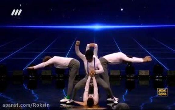 فیلم اجرای گروه مجاز در برنامه عصر جدید