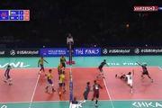 خلاصه بازی والیبال ایران 2 برزیل 3 در لیگ ملت های والیبال