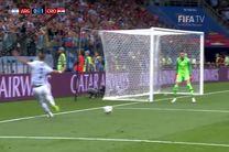 خلاصه بازی آرژانتین کرواسی در جام جهانی 2018 روسیه