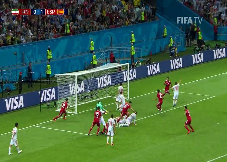 خلاصه بازی ایران اسپانیا در جام جهانی 2018 روسیه
