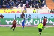 فیلم گل اول استقلال به شهرخودرو توسط شیخ دیاباته