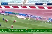 فیلم گل دوم استقلال به تراکتور توسط مهدی قائدی