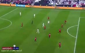 گل اول ایران به یمن در جام ملت های آسیا