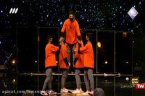 فیلم اجرای گروه پرواز در مرحله دوم عصر جدید