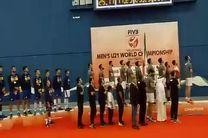 فیلم جشن قهرمانی تیم والیبال جوانان ایران در مسابقات جهانی