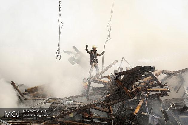 پلاسکو تمام شد، مردم چهارشنبه سوری را بی حادثه سپری کنند/آتش نشانی قدرت قضایی ندارد