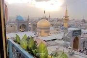 نقاره زنان حرم امام هشتم حلول سال نو را به مردم اعلام می کنند