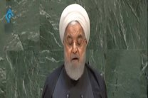 فیلم سخنرانی روحانی در سازمان ملل