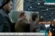 ورود پیکر سپهبد شهید قاسم سلیمانی به دانشگاه تهران