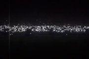 فیلم قطعی برق استادیوم در حین بازی دو تیم استقلال و گل ریحان