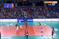 خلاصه بازی ایران 3- آلمان0   در لیگ ملت های والیبال