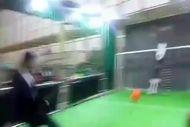 پنالتی زدن آذری جهرمی به ربات دروازه بان
