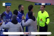 فیلم گل اول استقلال به شهرخودرو توسط سبحان خاقانی
