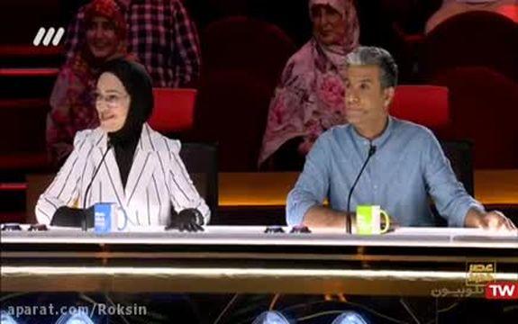 فیلم تیراندازی احسان علیخانی به سمت ایمان غیاثی در برنامه عصر جدید