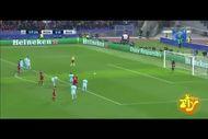 فیلم بازی رم برابر بارسلونا با گزارش کارلو زامپا