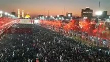 شب عاشورای حسینی در بین الحرمین