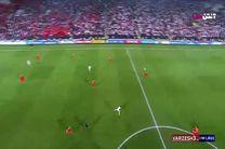 گل سوم ایران به چین در جام ملت ها
