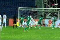 فیلم گل دوم تیم ملی فوتبال عراق به ایران
