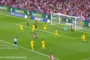 گل زیبا و استثنایی ادوریز به بارسلونا در بازی دیشب