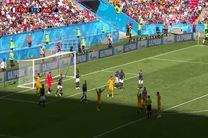 خلاصه بازی فرانسه و استرالیا در جام جهانی روسیه 2018