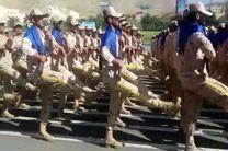 رژه تمرینی هوایی جنگندههای ارتش و سپاه