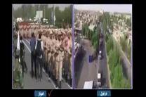 فیلم پخش زنده حادثه تروریستی در اهواز