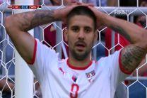 خلاصه بازی کاستاریکا صربستان در جام جهانی 2018 روسیه