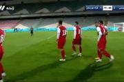 فیلم گل دوم پرسپولیس به فولاد توسط احمد نورالهی