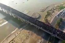 فیلم تصاویر هوایی تشییع سردار شهید قاسم سلیمانی در اهواز (1)