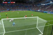 خلاصه بازی روسیه مصر در جام جهانی 2018 روسیه